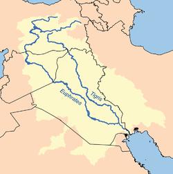 底格里斯河和幼发拉底河